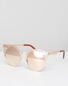 Солнцезащитные очки Quay Australia Fleur - Золотой