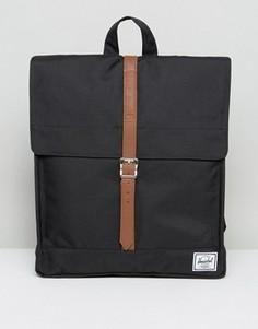 Черный рюкзак Herschel Supply Co City - Черный