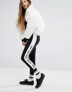 Спортивные штаны со вставкой в клетку Vans - Мульти