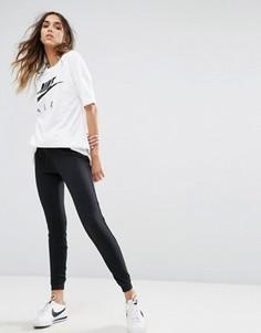Черные узкие спортивные штаны Nike - Черный