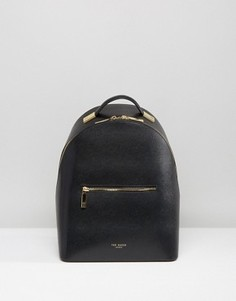 Мини-рюкзак из зернистой кожи Ted Baker - Черный