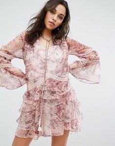 Платье мини Stevie May Breathless - Мульти