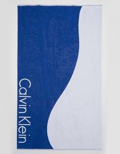 Полотенце колор блок Calvin Klein - Мульти