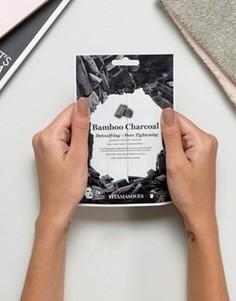 Детоксифицирующая и очищающая поры маска‑салфетка с бамбуковым углем Vitamasque - Бесцветный Beauty Extras