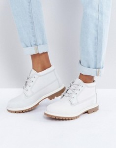 Ботинки чукка на двойной шнуровке и плоской подошве Timberland Nellie - Серый