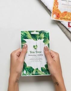 Очищающая и увлажняющая маска-салфетка с экстрактом чайного дерева Vitamasque - Бесцветный Beauty Extras