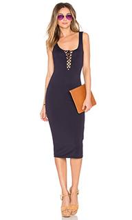 Платье со шнуровкой paige - Bardot