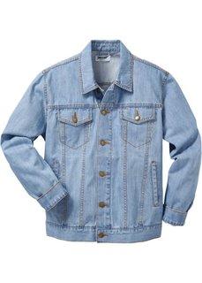 Джинсовая куртка классического покроя (голубой) Bonprix