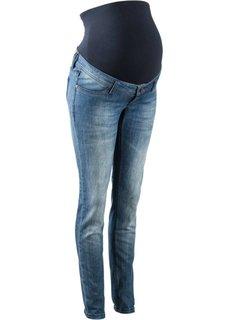 Для будущих мам: джинсы Skinny (синий) Bonprix