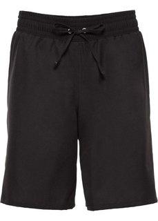 Пляжные бермуды (черный) Bonprix