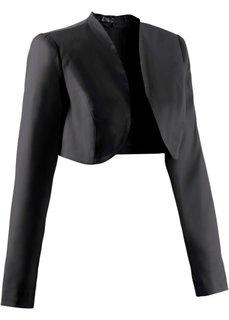 Мода для беременных: нарядное болеро (черный) Bonprix