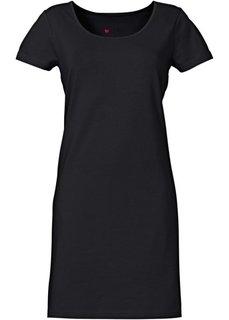 Платье стретч (черный) Bonprix