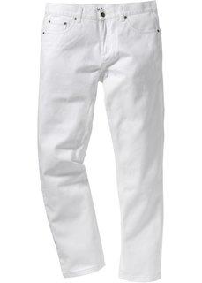 Белые джинсы Straight, cредний рост (N) (белый) Bonprix
