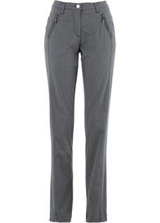 Эластичные брюки Chino (дымчато-серый) Bonprix