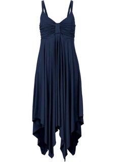 Обязательный элемент гардероба: платье с асимметричным низом (темно-синий) Bonprix