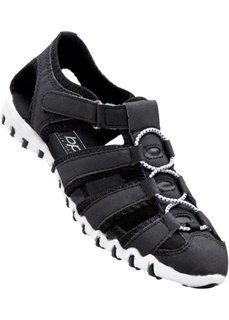 Женские кроссовки с отверстиями (черный) Bonprix