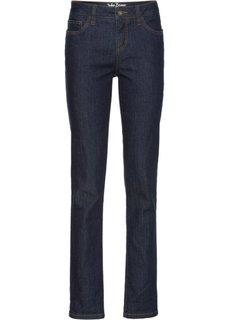 Джинсы-стретч в стиле бойфренд, высокий рост (L) (темно-синий) Bonprix