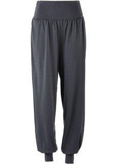 Спортивные брюки-саруэл для велнеса (антрацитовый) Bonprix