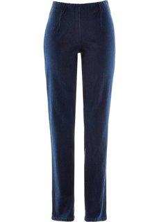 Узкие джинсы стретч, низкий рост (K) (темный деним НОВИНКА) Bonprix