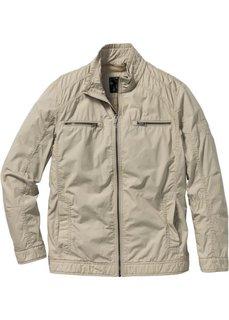 Легкая короткая куртка Regular Fit (песочный) Bonprix