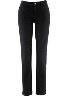 Джинсы-стретч STRAIGHT, высокий рост (L) (черный) Bonprix