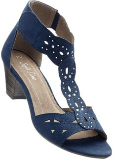 Босоножки (темно-синий) Bonprix