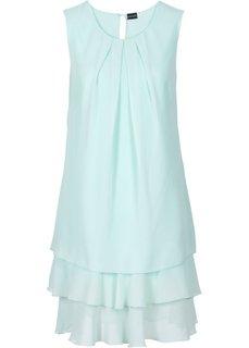 Шифоновое платье (мятный пастельный) Bonprix