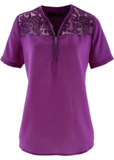 Блузка (фиолетовый) Bonprix