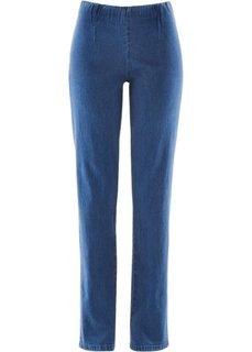 Узкие джинсы стретч, низкий рост (K) (синий НОВИНКА) Bonprix