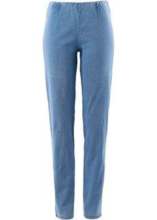 Узкие джинсы стретч, низкий рост (K) (голубой НОВИНКА) Bonprix