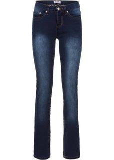Прямые джинсы-стретч, cредний рост (N) (темно-синий новый) Bonprix
