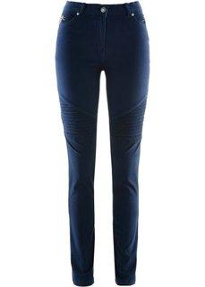 Джинсы-стретч в потертом дизайне (темно-синий) Bonprix