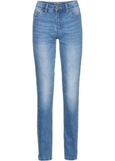 Джинсы-стретч CLASSIC, высокий рост (L) (нежно-голубой) Bonprix
