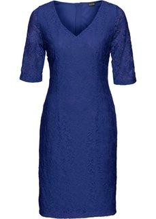 Кружевное платье (сапфирно-синий) Bonprix