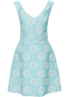 Жаккардовое платье (полярно-мятный) Bonprix