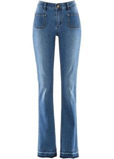 Дизайн от Maite Kelly: джинсы Bootcut с эффектом пуш-ап (голубой) Bonprix