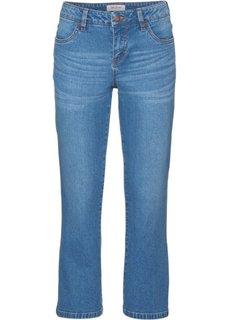 Стрейтчевые джинсы длины 3/4, cредний рост (N) (нежно-голубой) Bonprix