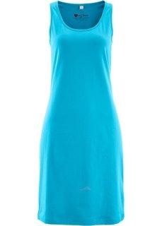 Трикотажное платье стретч (карибский синий) Bonprix