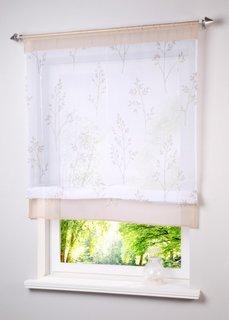 Римская штора Алина, кулиска (белый/песочный) Bonprix