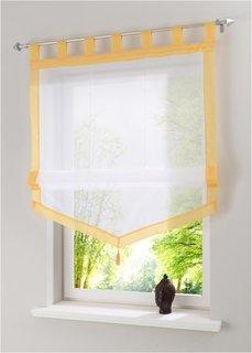 Римская штора Зюльт, петли (ярко-желтый) Bonprix