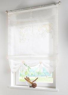 Римская штора, Шина с лентой велкро (кремовый) Bonprix