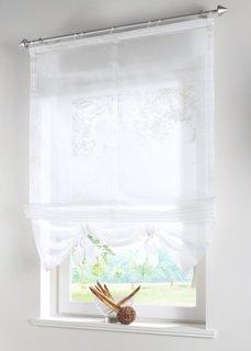 Римская штора, Шина с лентой велкро (белый) Bonprix