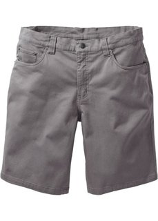 Бермуды-стретч Classic Fit (серый) Bonprix