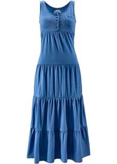 Трикотажное платье (джинсовый синий) Bonprix