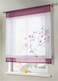 Римская штора Сэнди, кулиска (цвет красной ягоды) Bonprix