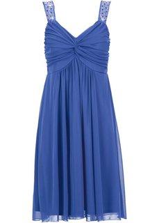 Трикотажное платье (королевский синий) Bonprix