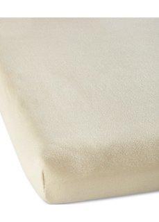 Простыня-чехол из эластичного джерси (кремовый) Bonprix