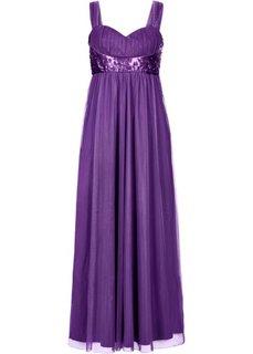 Макси-платье (виноградный) Bonprix