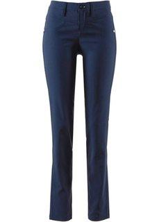 Прямые брюки стретч (темно-синий) Bonprix