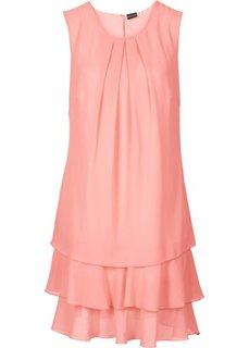 Шифоновое платье (нежно-коралловый) Bonprix